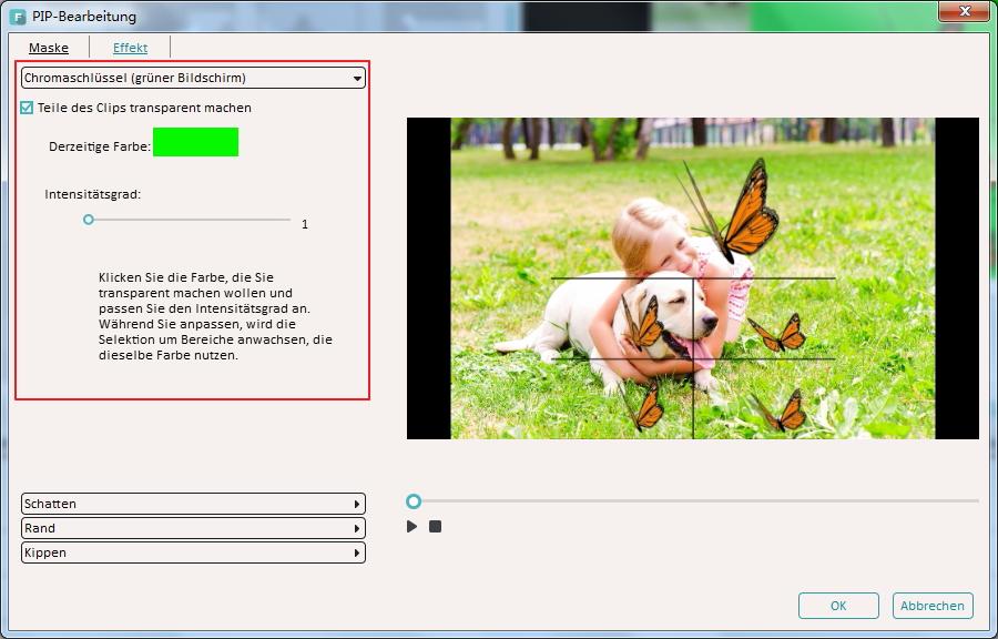 Greenscreen Videos erstellen