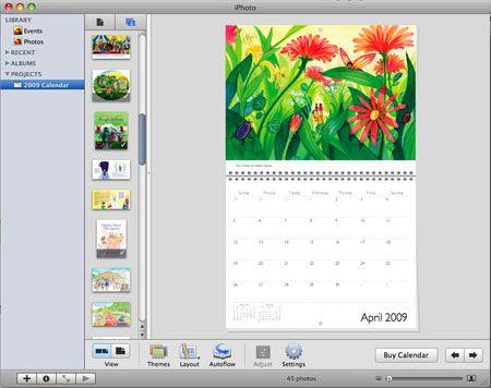iPhoto Kalender