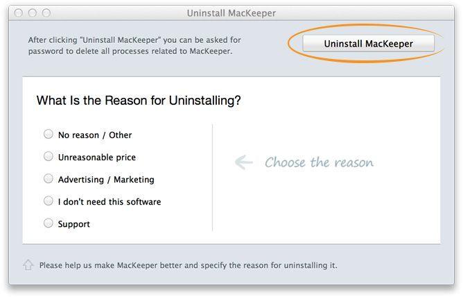 MacKeeper komplett deinstallieren