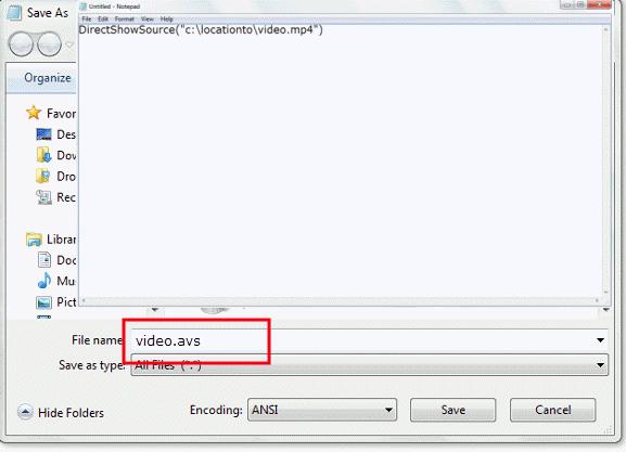 MKV,MP4 in VirtualDub bearbeiten