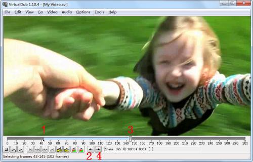 Mit VirtualDub video bearbeiten