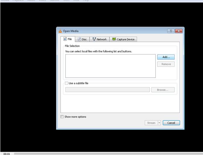 Wie spielt man RTMP Dateien mit dem VLC Media Player?