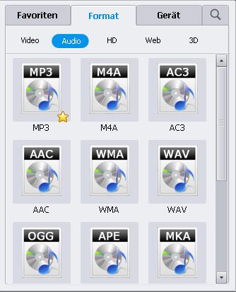 MP3 aus M4V extrahieren