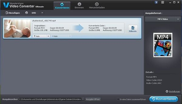 VLC to dvd importing
