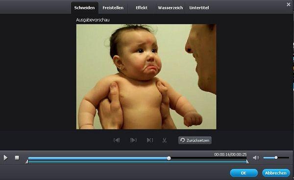 video bearbeiten