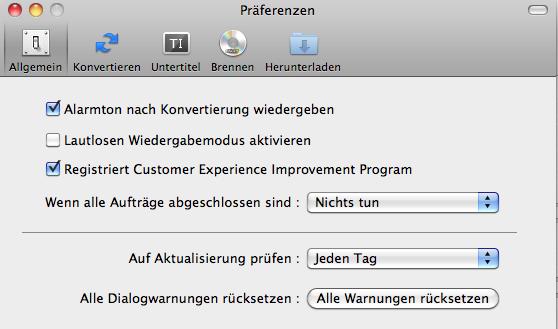 iMovie Converter für Mac
