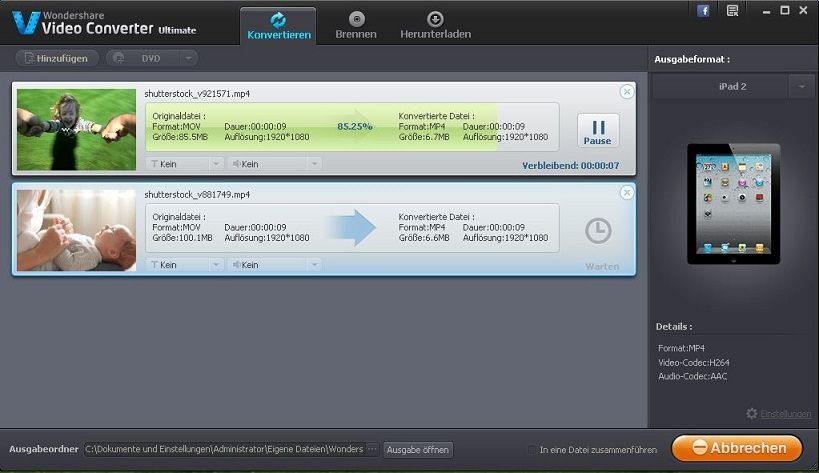 DivX encoder