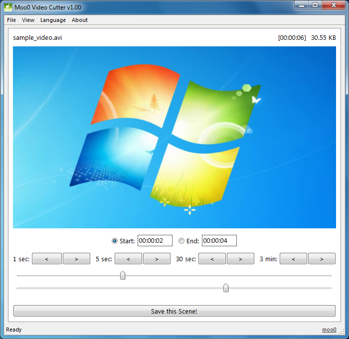 moo0 Videoschnittprogramm kostenlos