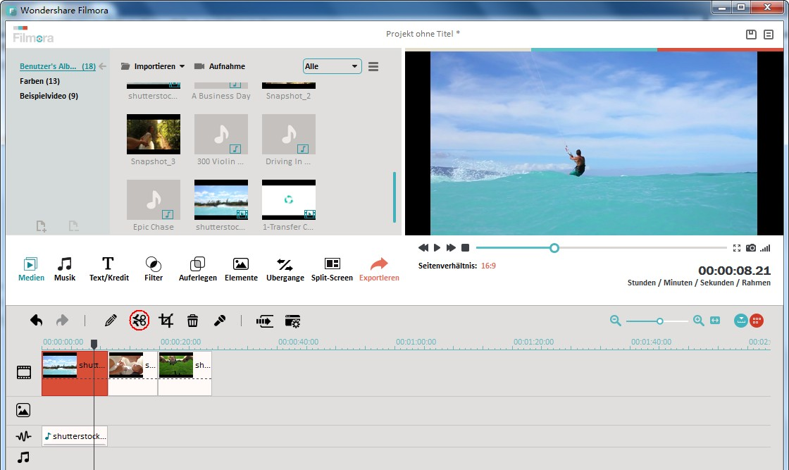Videos zuschneiden um es zu verkleinern