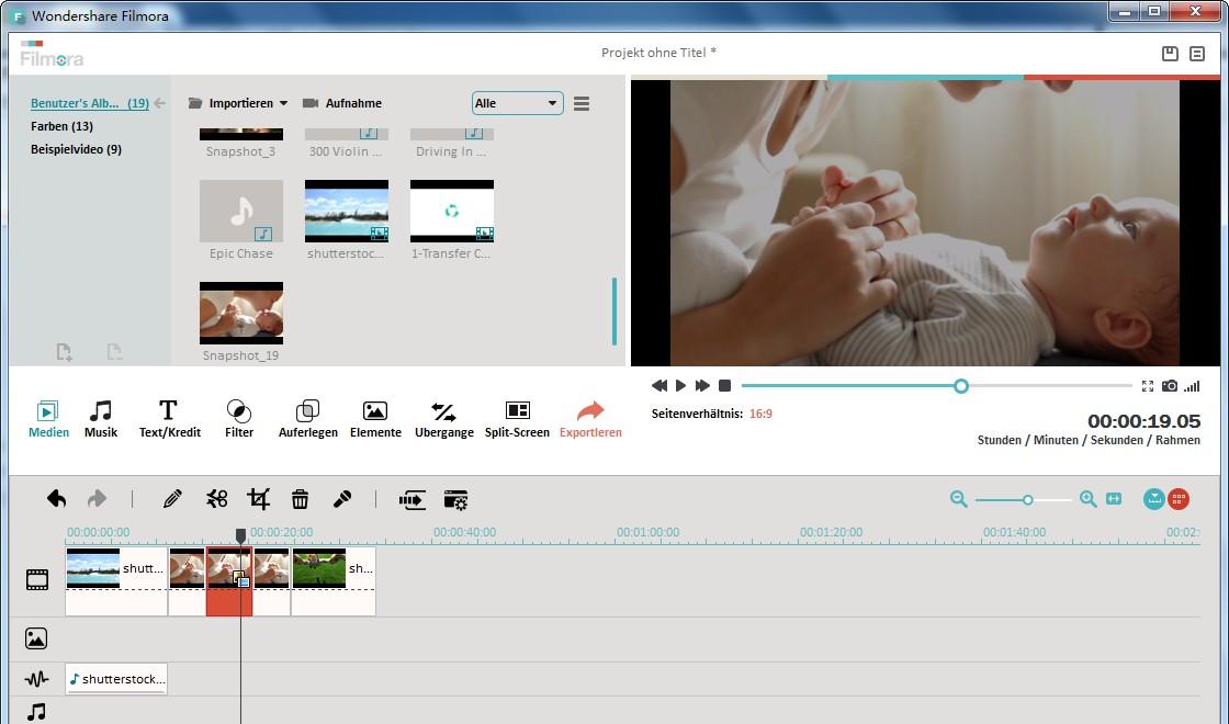 Weitere Videobearbeitungstools