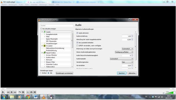 VLC 3D in 2D umwandeln