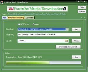youtube music downloader app